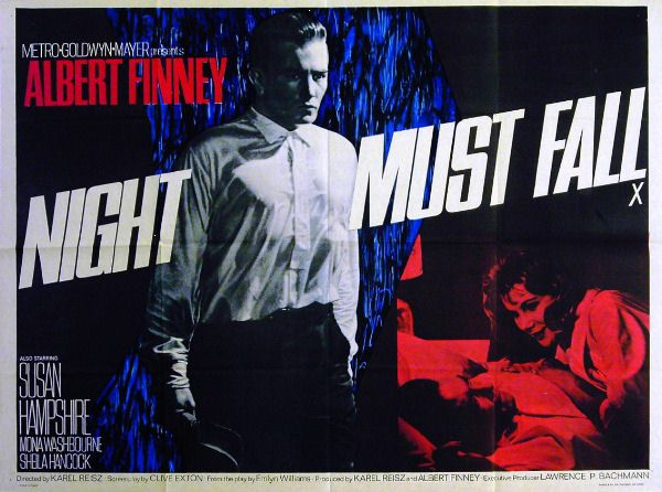 night must fall (1964) poster