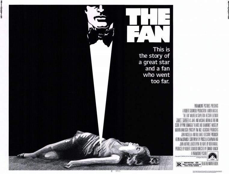 the fan (1981) poster