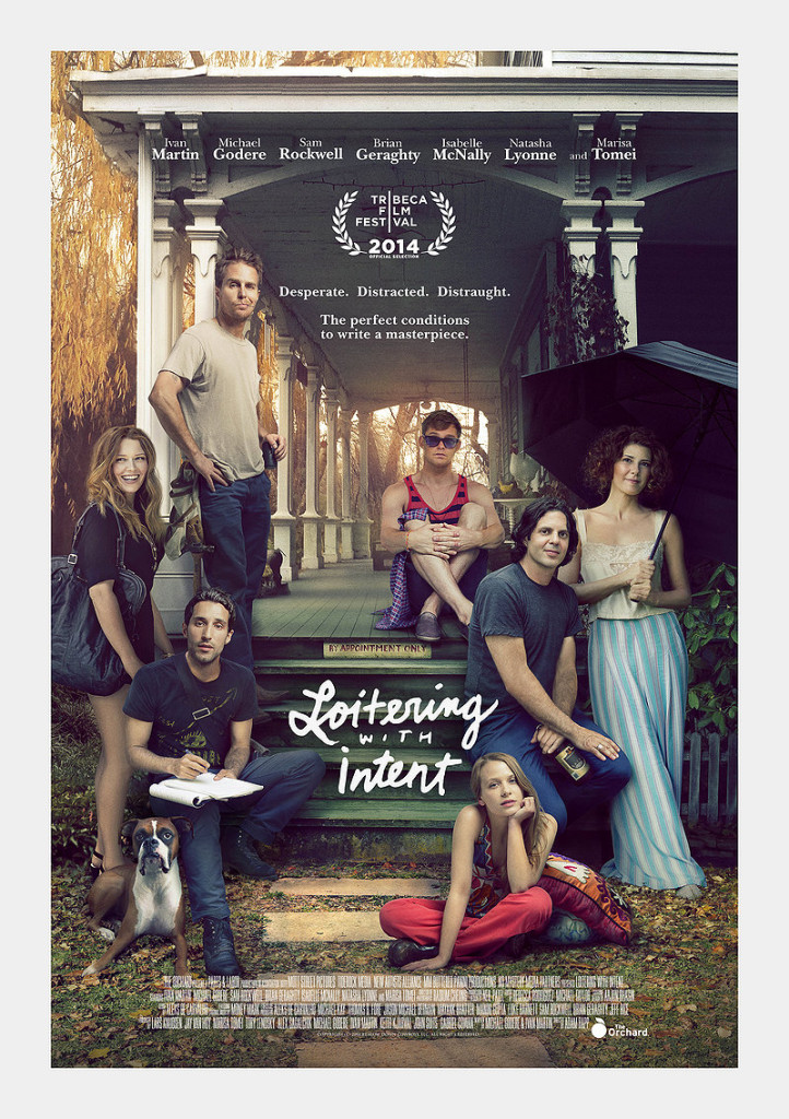 poster for Loitering With Intent