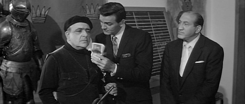 akim tamiroff and mike connors in panic button