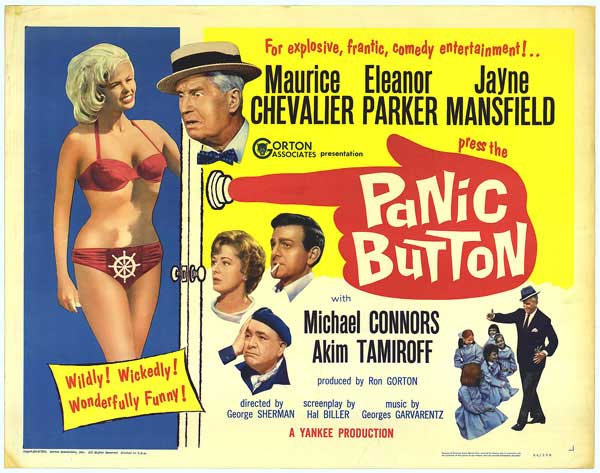 panic button (1964) poster