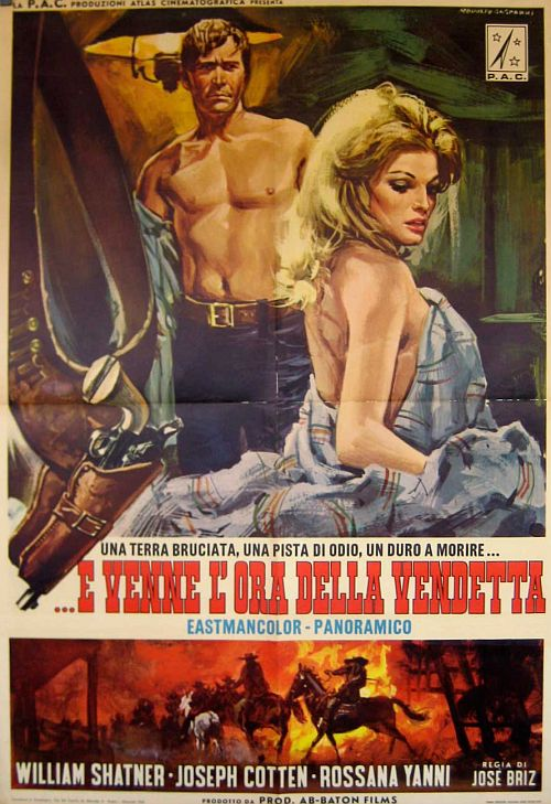 white comanche italian poster