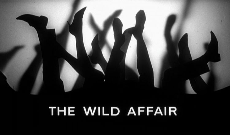 the wild affair title screen