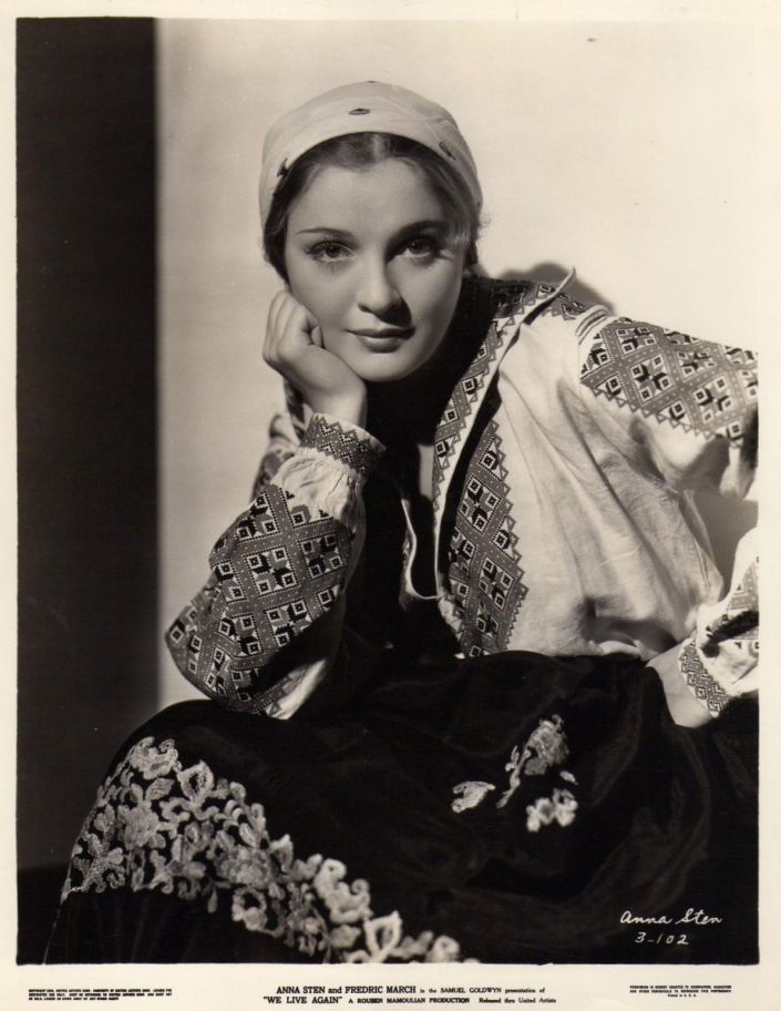 anna sten in we live again 1934