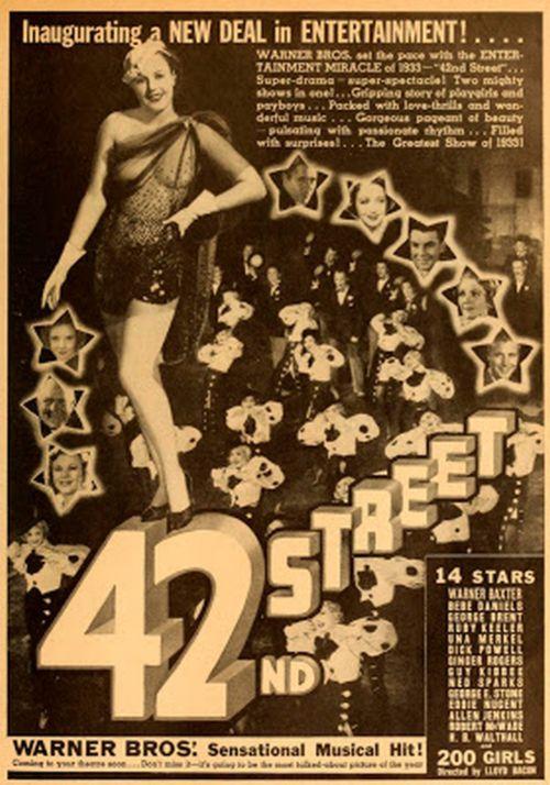 42nd Street advertisement photoplay april 1933
