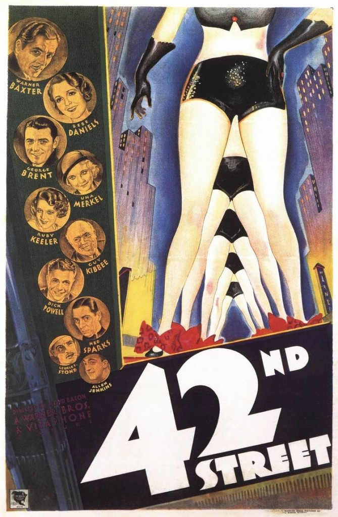 42nd Street poster 1933