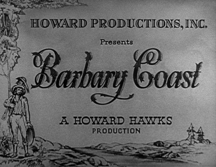 barbary coast title screen