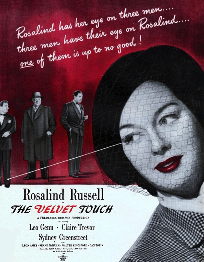 velvet touch poster