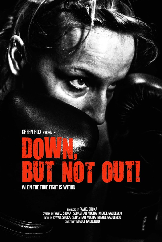 down but not out poster