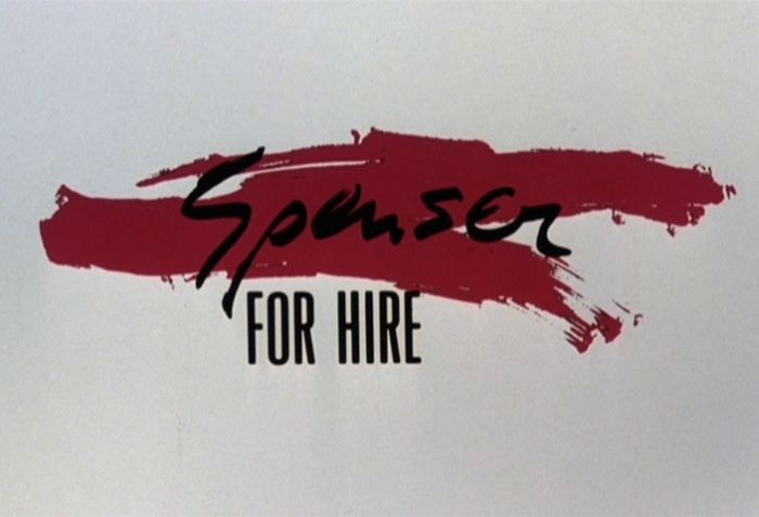 spenser for hire season two title screen