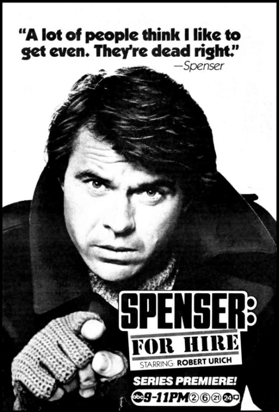 spenser for hire series premiere advertisement 555px