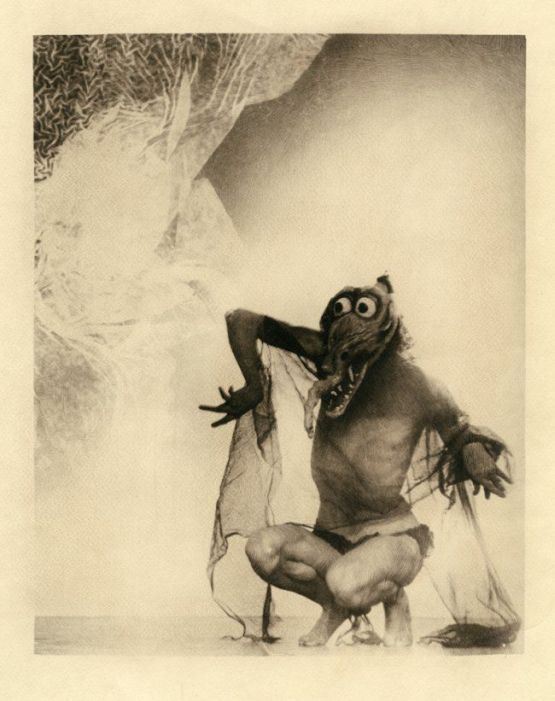 west of zanzibar - mask used on model for william mortensen the incubus series 2 555px