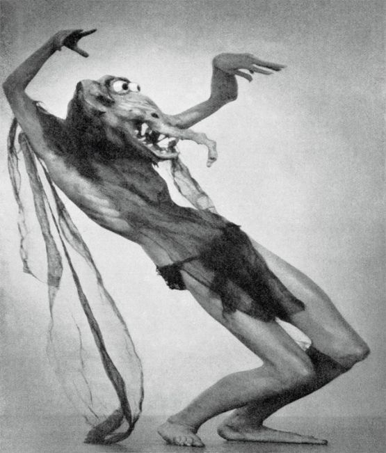 west of zanzibar - mask used on model for william mortensen the incubus series 555px