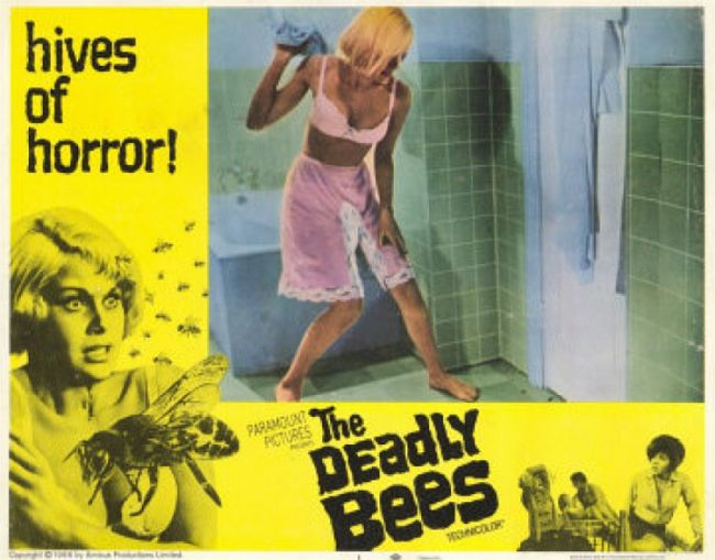 The Deadly Bees lobby card 2