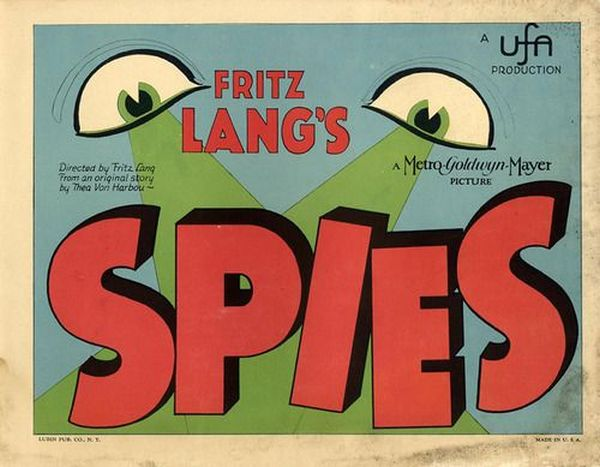 Spione Spies lobby card