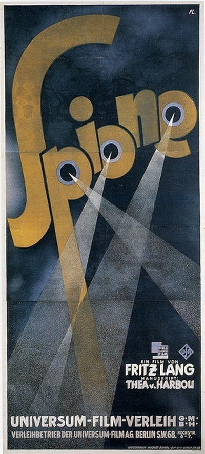 Spione Spies poster