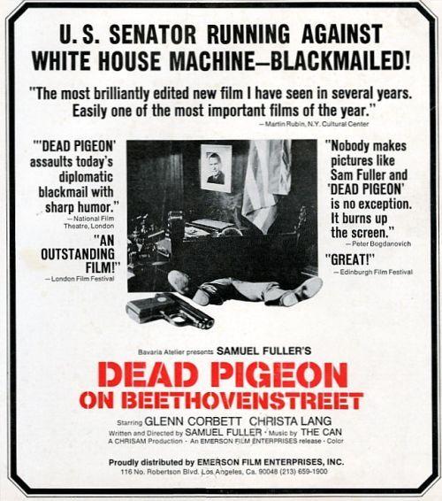 Dead Pigeon print ad