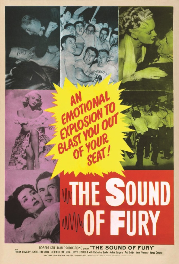 Try and Get Me - The Sound of Fury - poster