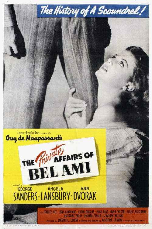Bel Ami poster 500px