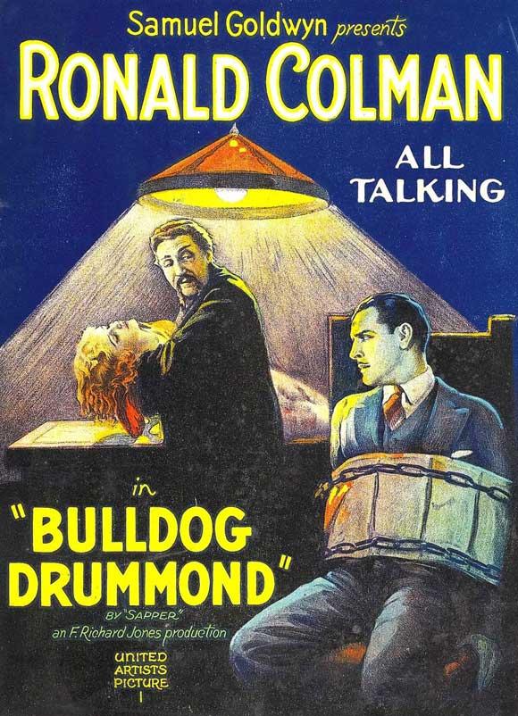 Bulldog Drummond 1929 poster