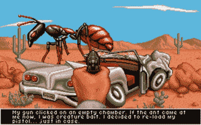 It Came from the Desert play screen